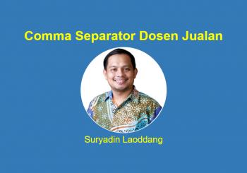 Comma Separator Dosen Jualan