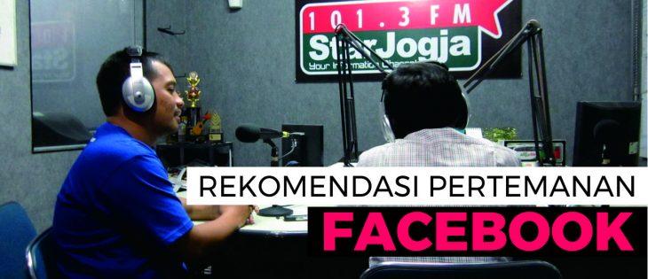 Rekomendasi Teman Facebook